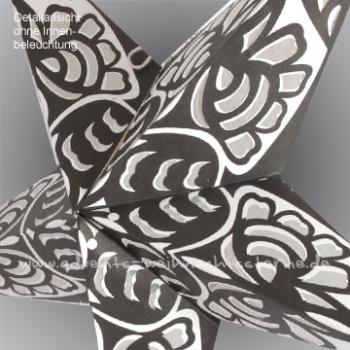 advents schwarz wei e schneeflocke ca 60 cm. Black Bedroom Furniture Sets. Home Design Ideas