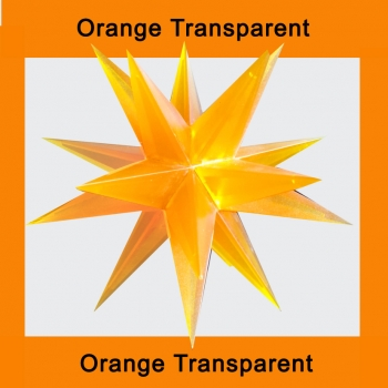1 x Orange Transparent - ohne Elektrik